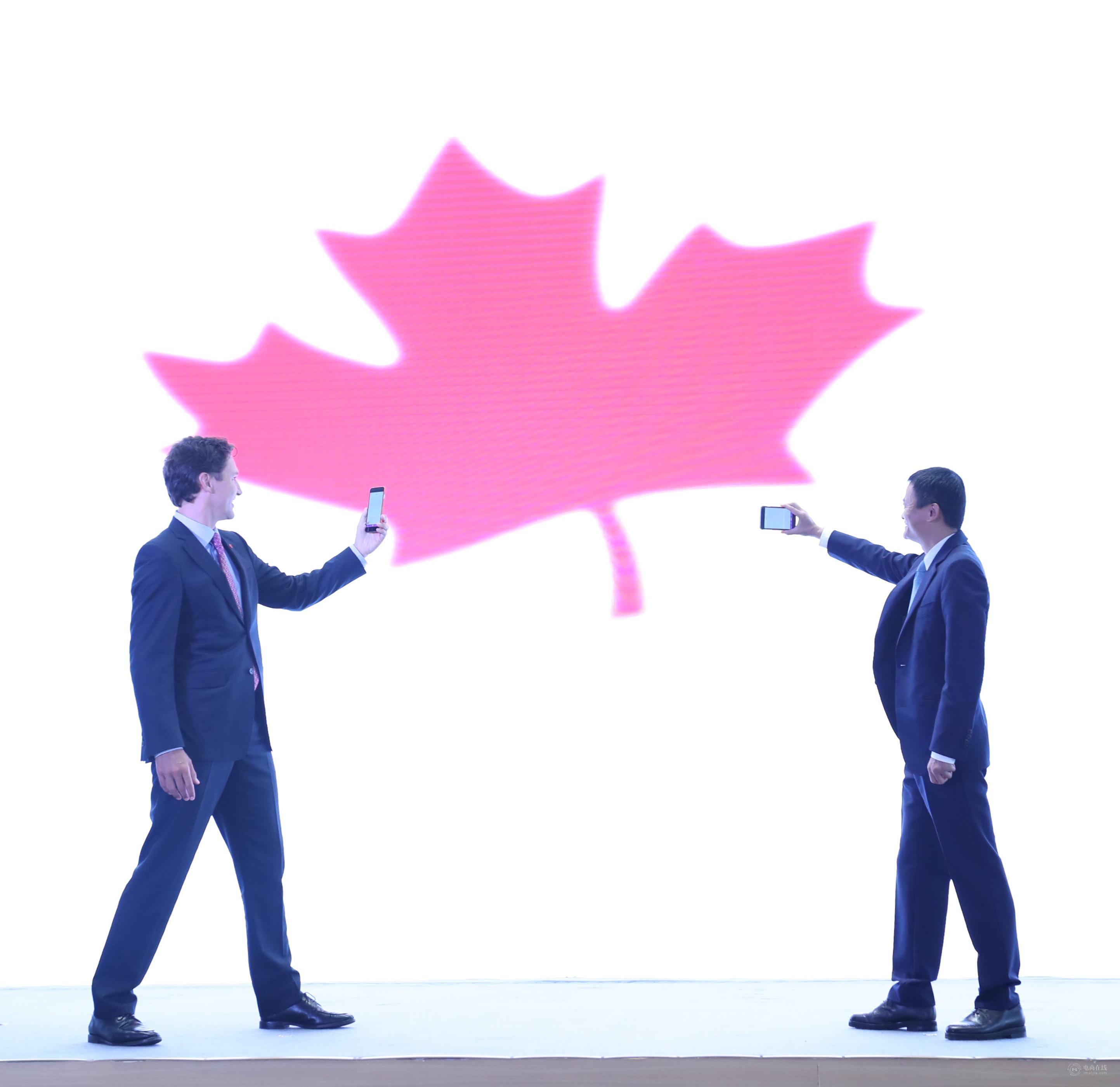 """加拿大网红总理杭州卖""""国宝"""",天猫国际多了个国家馆"""