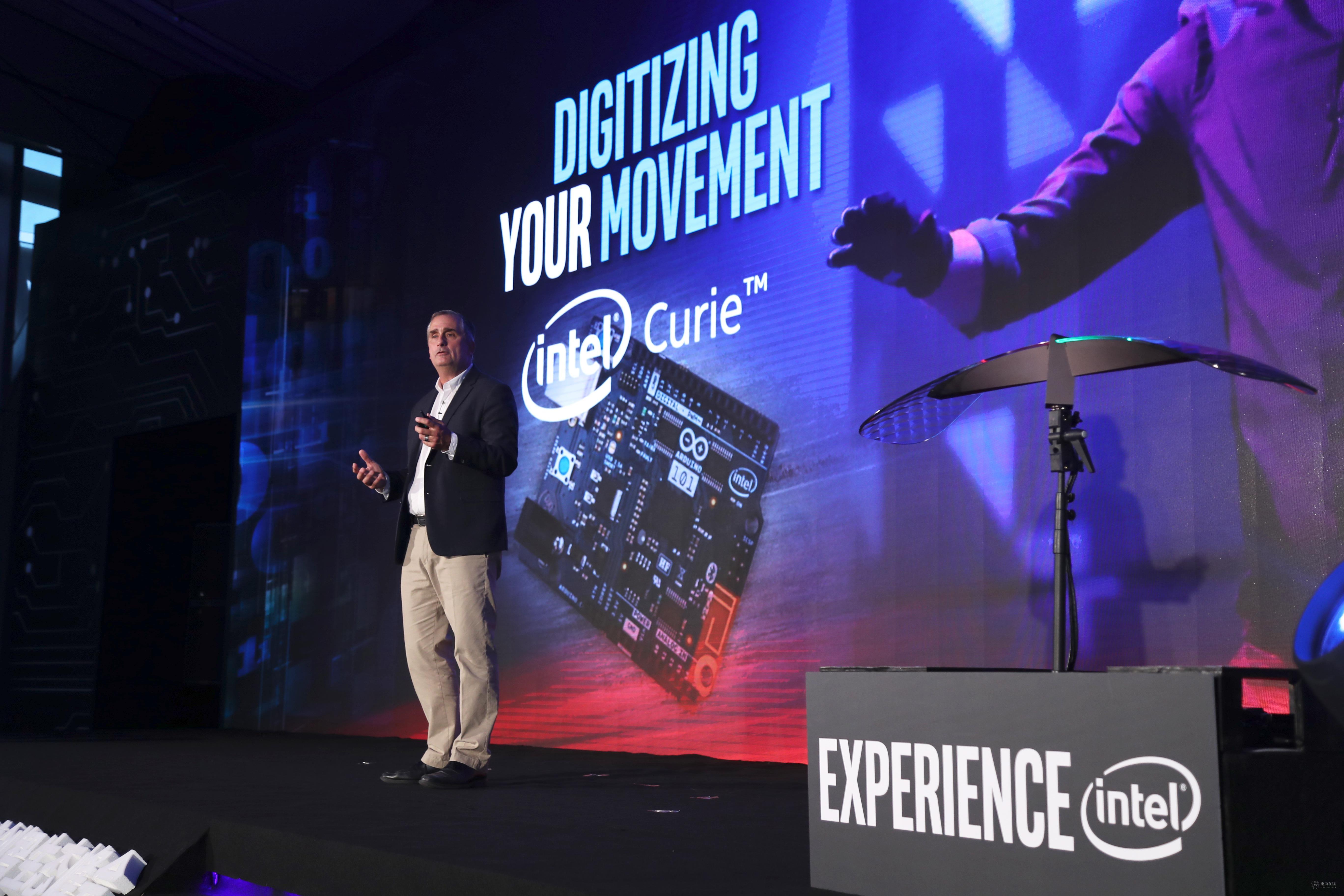 """11月3日,Intel公司CEO Brian Krzanich出席""""天猫双11全球创智生态峰会"""".jpg"""